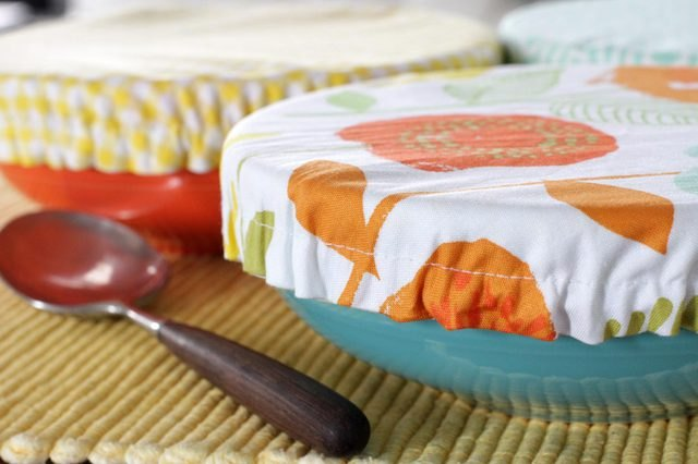 Fabric bowl covers are perfect for summer barbecues