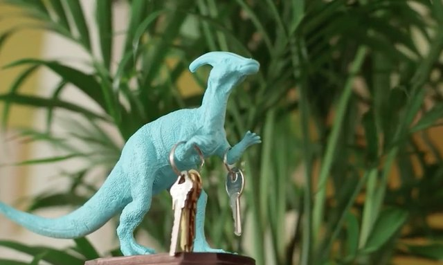 Animal toy key holder