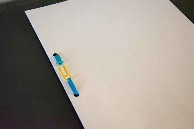paper clip book binding