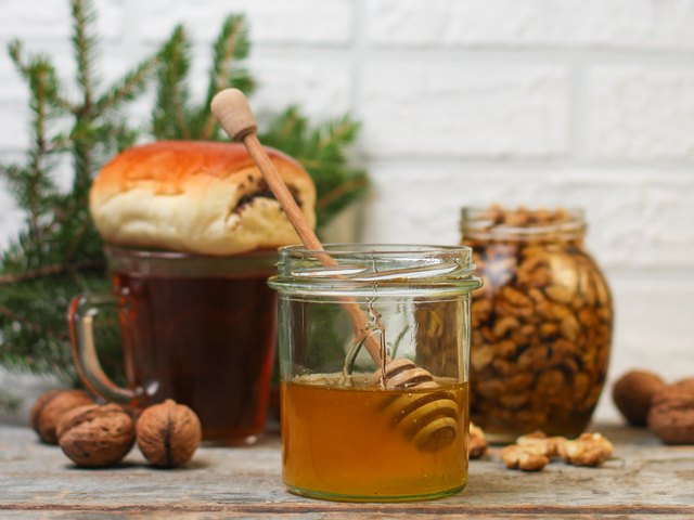 honey - delicious treat for tea drinking