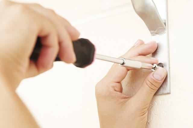 handy woman screwdriver