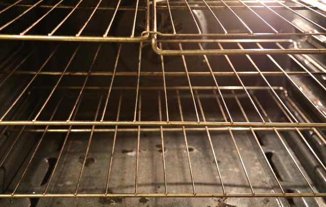 Steel Baking Racks in a convectional oven