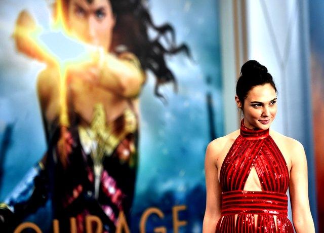 gal gadot at Premiere Of Warner Bros. Pictures' 'Wonder Woman' - Arrivals