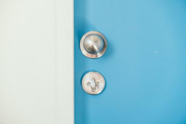 Close Up Of Door Knob