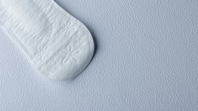 Hygienic daily ultra-thin panty liners on a white background