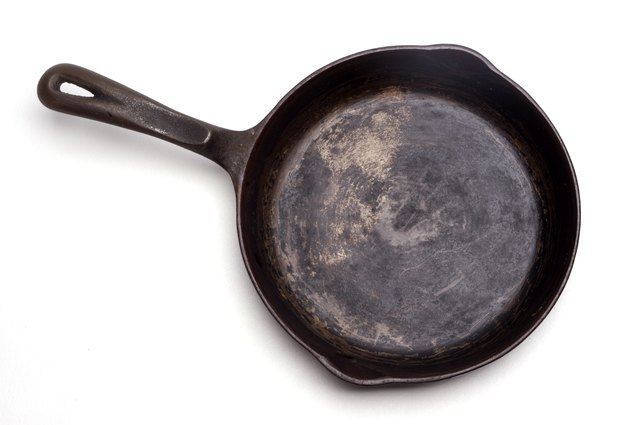Grungy Cast Iron Skillet