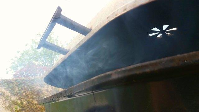 BBQ with smoke