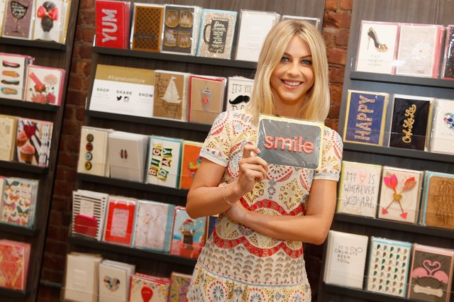 Julianne Hough Kicks Off Hallmark Signature's Pop-Up Shop At New York's Fashion Week