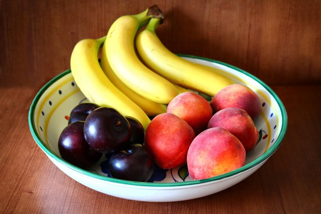 Banana-Peachy Bowl of Fruits