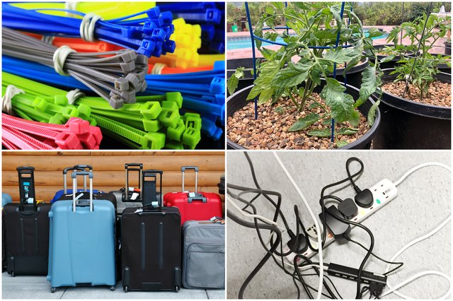10 Genius Ways to Use Zip Ties