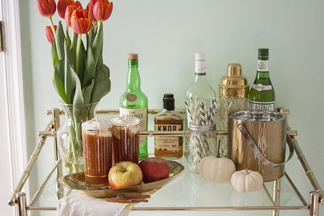 Add a signature drink to your bar cart this fall.
