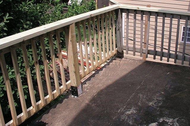Repaired Porch Railing