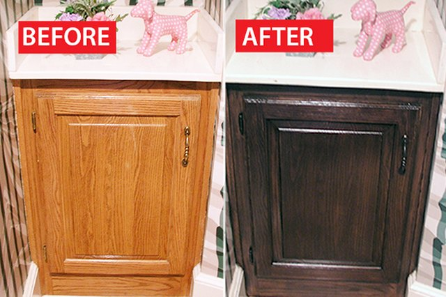 Darker Cabinets Are More Up To Date