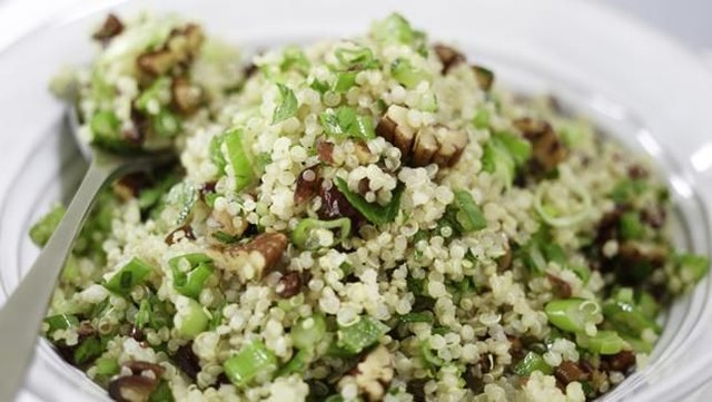 Quinoa is a protein-rich alternative to rice