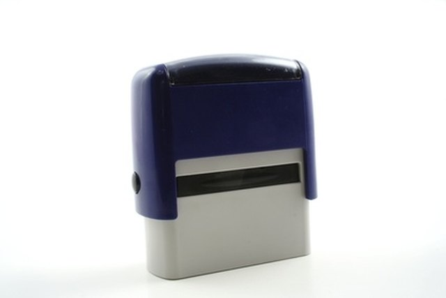 Refill A Self Inking Stamp