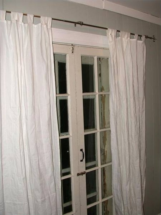 This Is The Kind Of French Door Curtain To Use If You Want Look Out Windows During Day And Close Curtains Night