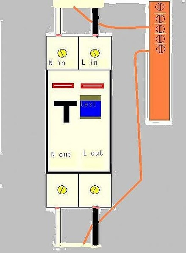 Remarkable How To Wire An Rcbo With Pictures Ehow Wiring 101 Mecadwellnesstrialsorg
