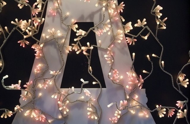 LED lights are less expensive to run and last longer than incandescent  lights. - How To Fix LED Christmas Lights EHow