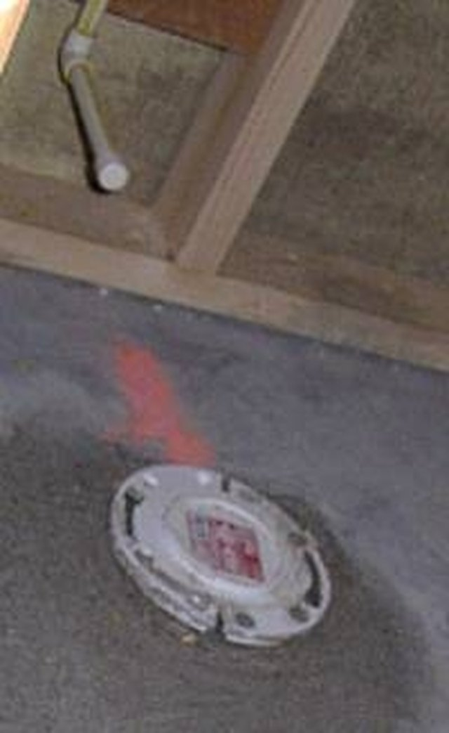 how to install a toilet in a basement with a rough in pipe ehow rh ehow com Basement Toilet Installation how to install a toilet in a basement