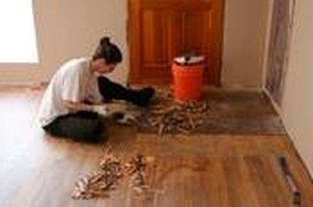 How To Remove Parquet Floor Tile Ehow