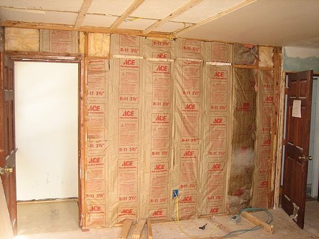 Insulation Is The First Layer Of Soundproofing For A Wall