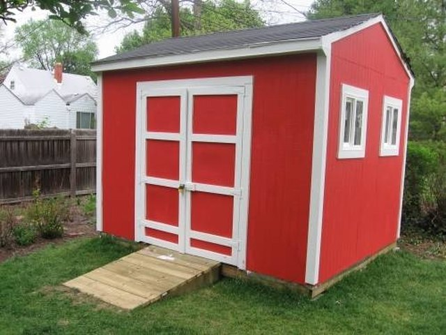 How To Build A Small Storage Shed Ehow