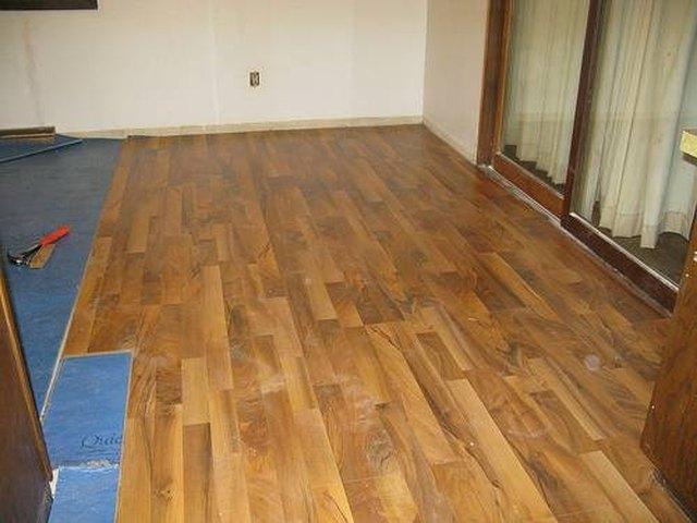 Laminate Floor Laying Tips