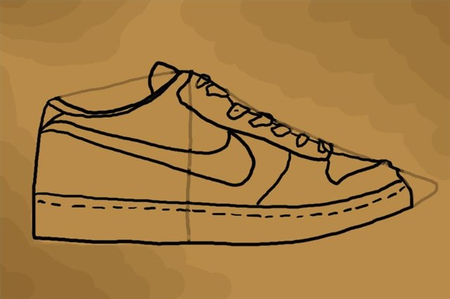 new styles 06397 261d3 An almost complete drawing of the shoe.