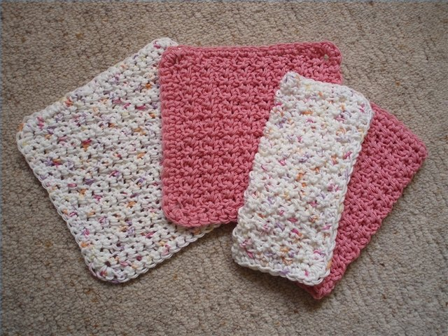 How To Crochet A Quick And Easy Dishcloth Ehow