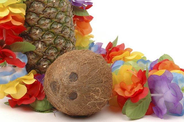 Setting The Stage For A Luau Is Easy