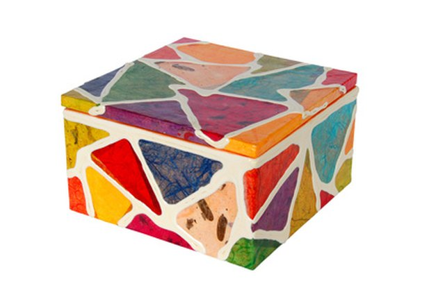 How To Decorate Small Craft Boxes Ehow