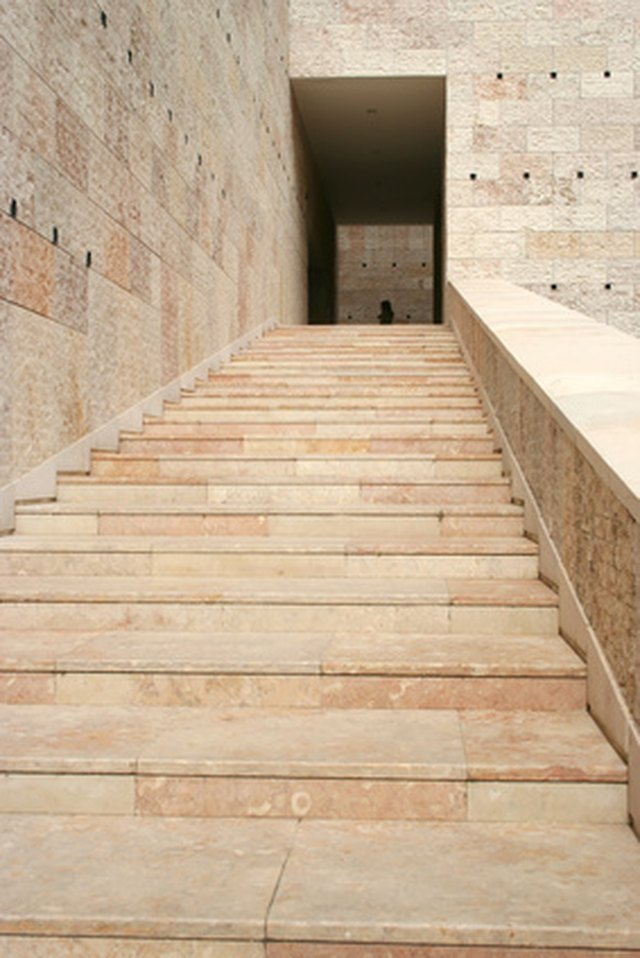 Stone Steps Are Easy To Repair With Epoxy