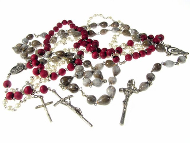 Rosary beads can be made from rose pedals.