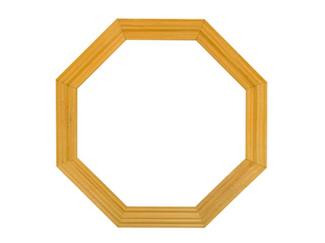 How to Make Wood Octagon Frames | eHow
