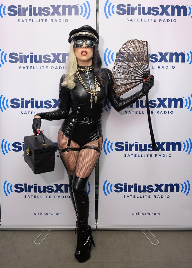 Lady Gaga is ready-made for Halloween inspiration.