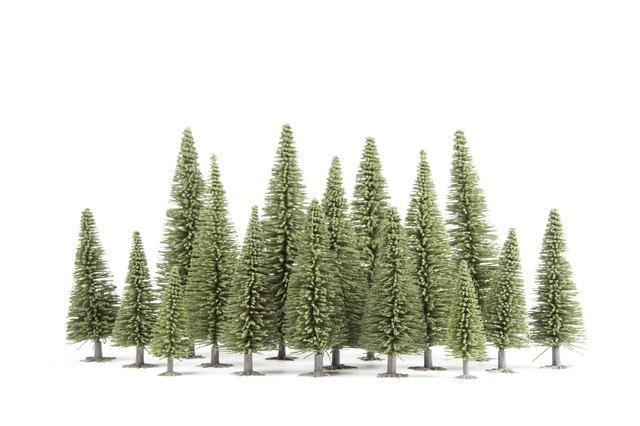 How to Make Fake Trees for Dioramas | eHow