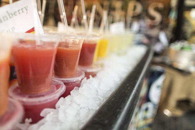 festival smoothies beverages