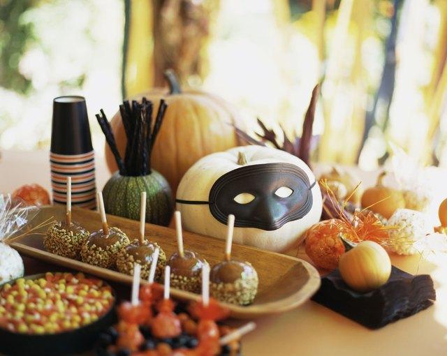 Halloween Party Spread