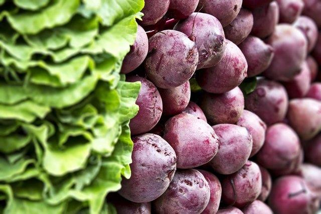 beets and collard greens