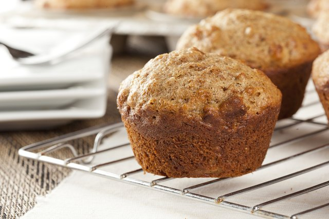 Fresh Homemade Bran Muffins