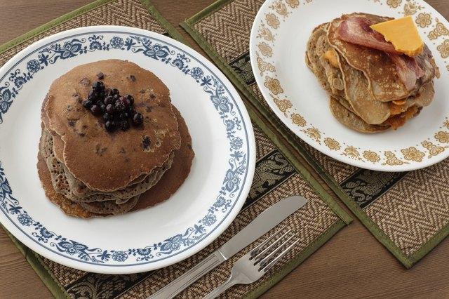 Quinoa Flour Pancakes