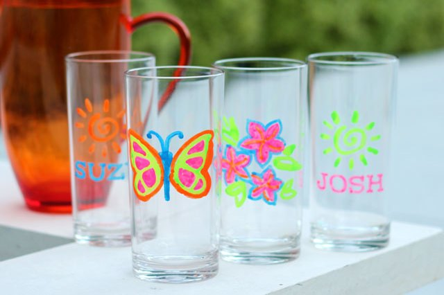 how to paint on plastic tumblers ehow