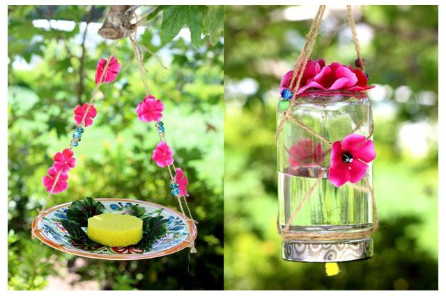 Butterflies And Hummingbirds Will Love You So Your Parents If Make This Homemade Feeder Not Only Do They Bring Beautiful