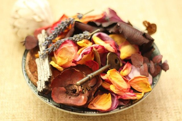 Bowl of potpourri