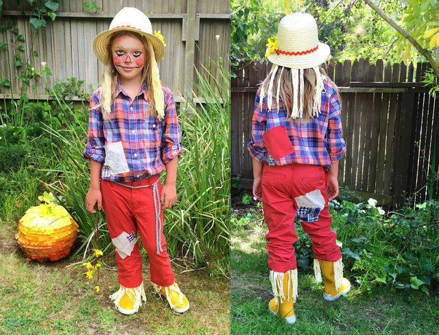 Easy Homemade Scarecrow Costume (with Pictures) | eHow