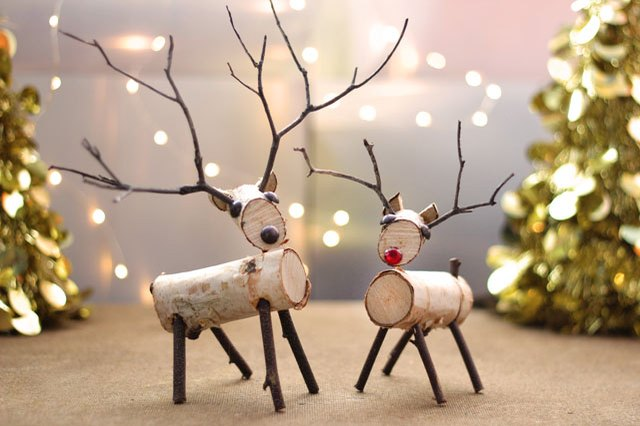 How To Make A Birch Wood Reindeer Ehow