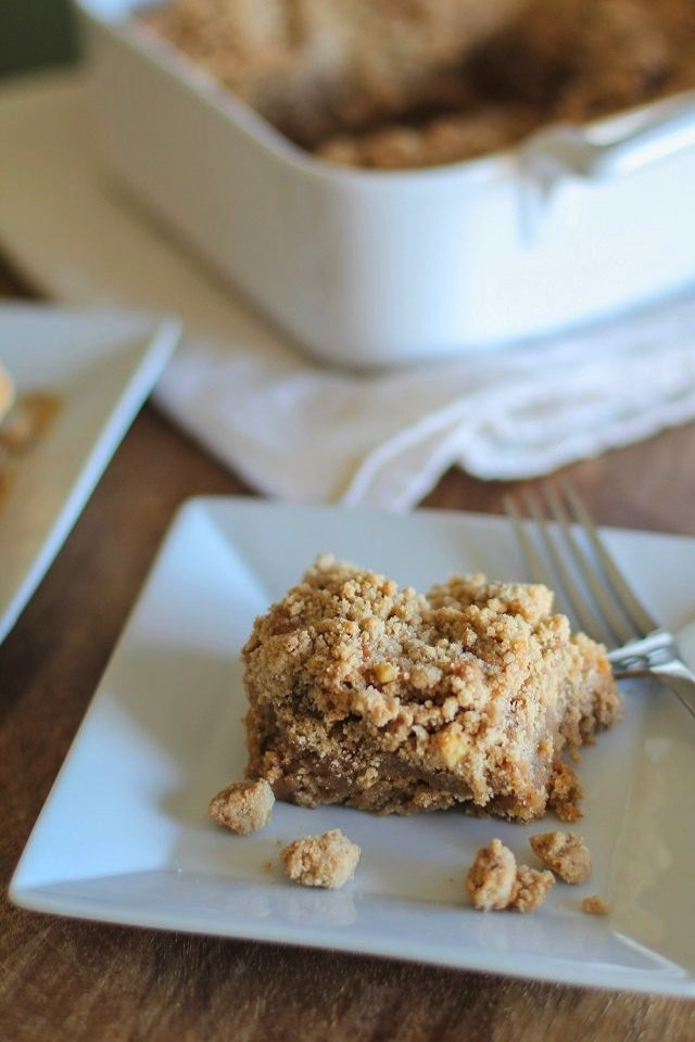 Put a smile on your face with this classic coffee cake.