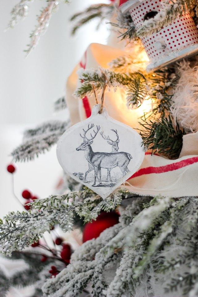 Diy Wood Transfer Christmas Ornaments Ehow