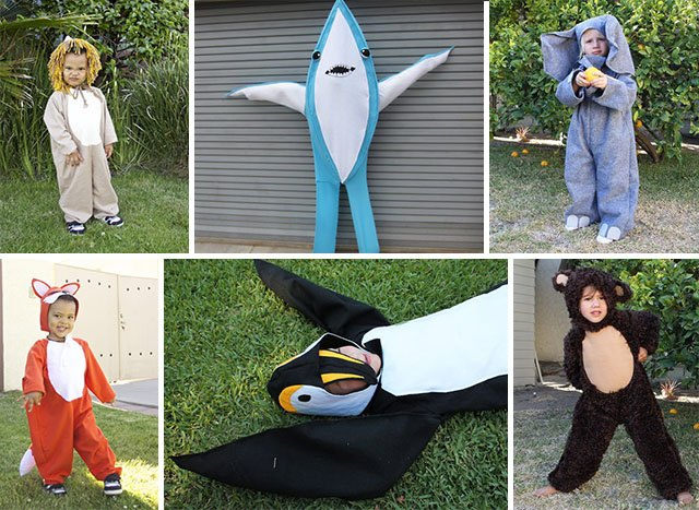sc 1 st  eHow & Adorable DIY Animal Costumes for Kids | eHow
