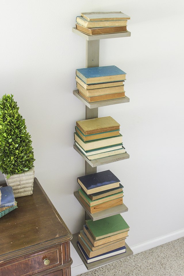 How To Make A Vertical Bookshelf Ehow
